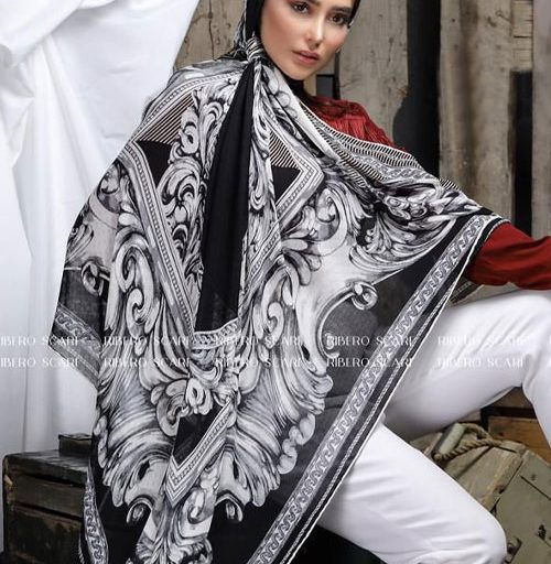 روسری نخی کلاسیک