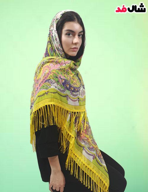 روسری ترکمن ریشه دار