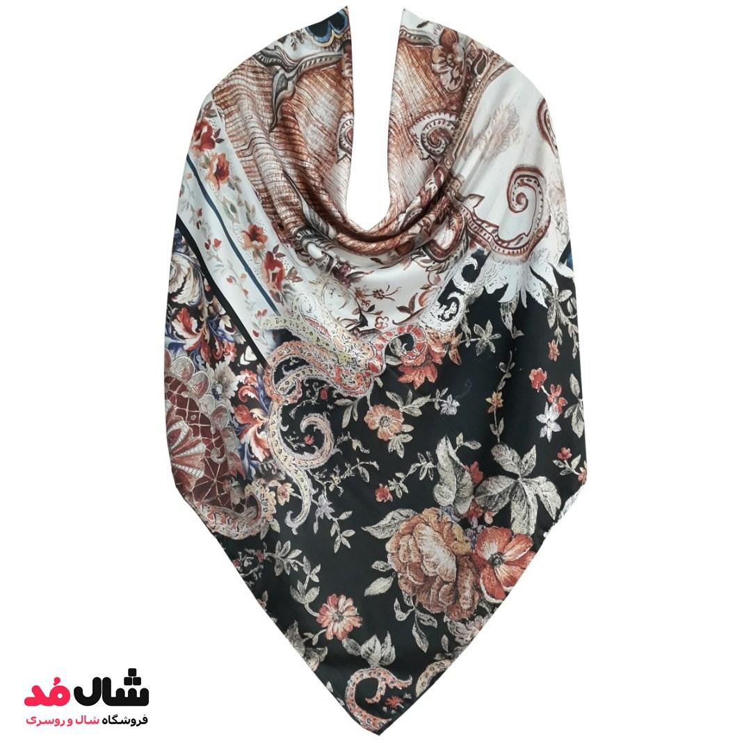 انواع مدل های روسری های ابریشم