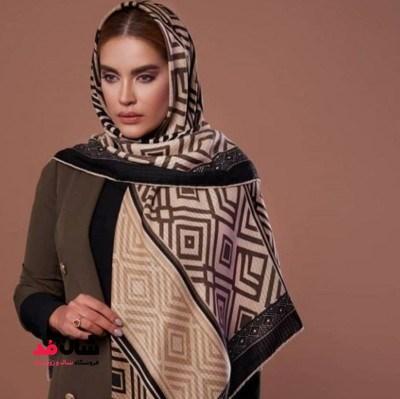روسری کشمیر زمستانی