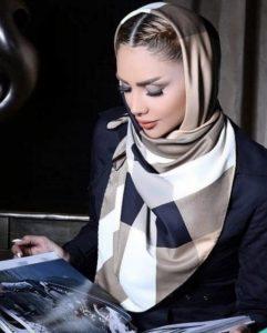 مدل روسری با طراحی مدرن