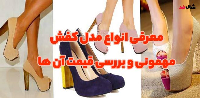 معرفی انواع مدل کفش مهمونی