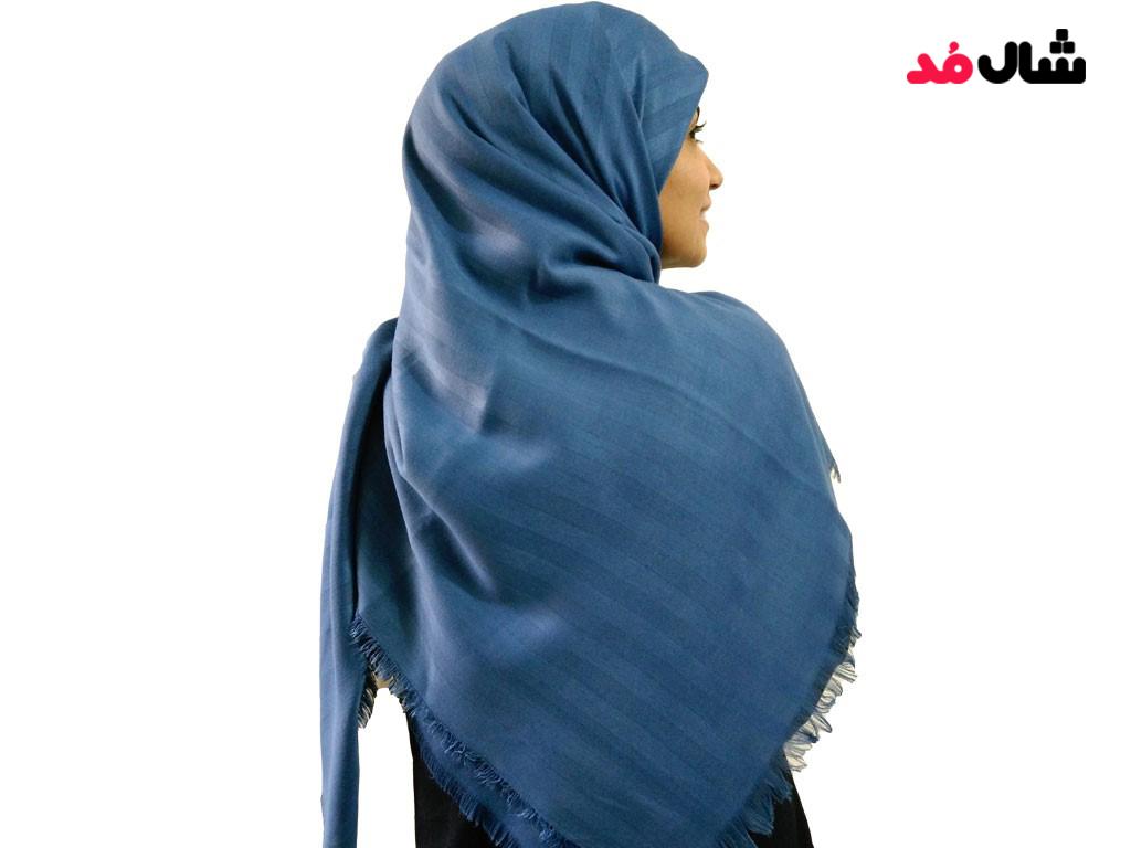 ست کردن لباس با شال آبی